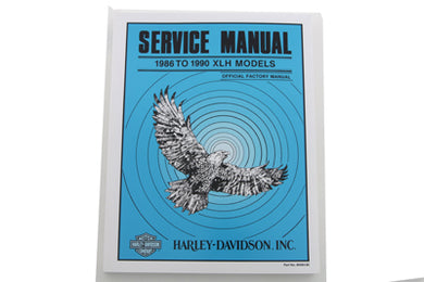 FACTORY SERVICE MANUAL FOR 1985-1990 XLH XLH 1985/1990