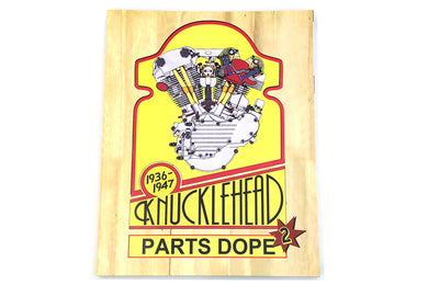 V-TWIN KNUCKLEHEAD PARTS DOPE REFERENCE GUIDE FL 1941/1965 EL 1936/1952