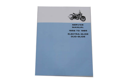 FACTORY SERVICE MANUAL FOR 1959-1965 PANHEAD FL 1959/1965