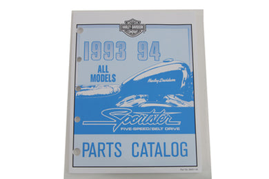 FACTORY SPARE PARTS MANUAL FOR 1993-1994 XL XL 1993/1994