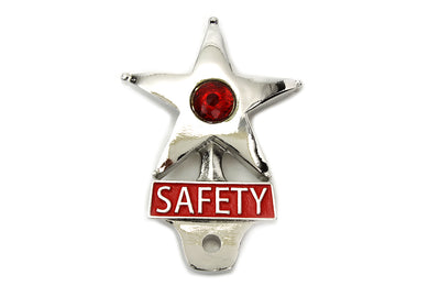 Safety License Plate Topper With ReFLector
