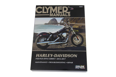 CLYMER REPAIR MANUAL FOR 2012-2017 DYNAGLIDE FXD 2012/2017 FXDB 2012/2017 FXDL 2012/2017 FXDWG 2012/2017 FLD 2012/2017