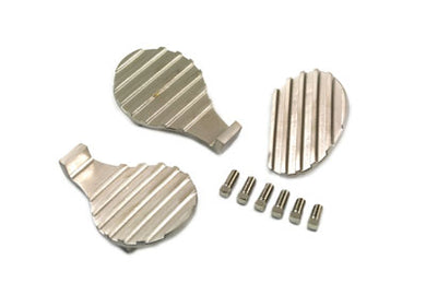 FINNED PEDAL PAD 3 PIECE SET FL 1941/1951 EL 1936/1940 UL 1937/1948