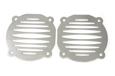Chrome Milled Slots Speaker Grill Set FLT 1996/2013