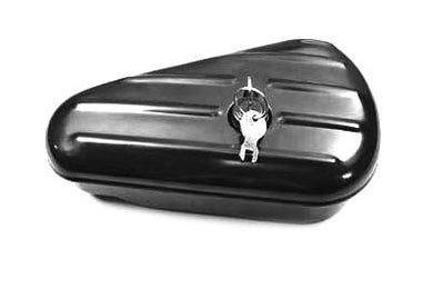Oval Right Side Black Tool Box FL 1940/1957 UL 1940/1948