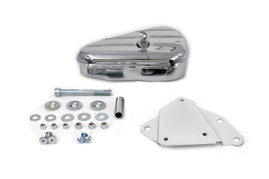 Chrome Right Side Tool Box And Mount Kit FXST 1984/1999 FLST 1986/1999