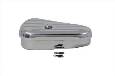 Left Side Chrome Oval Tool Box Custom 0/ Custom 0/