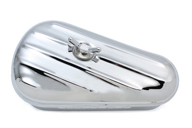 Replica Oval Right Side Chrome Tool Box FL 1940/1957 UL 1940/1948