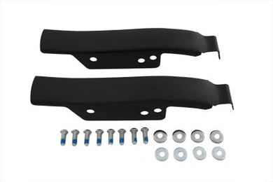 Saddlebag Rear Filler Strip Set Black FLT 1993/2008