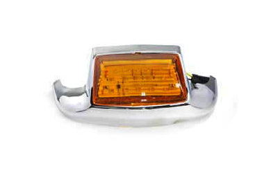 FRONT FENDER TIP WITH LED FLT 1984/1995 FLT 2000/2013 FLST 2000/UP FLST 1986/1995 FLT 1984/1995