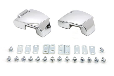 Chrome Tour-Pak Luggage Hinge Kit FLT 1988/2013
