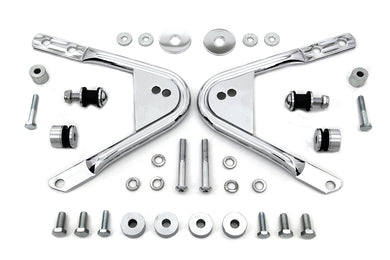 DETACHABLE DOCKING HARDWARE KIT CHROME FLT 1997/2008