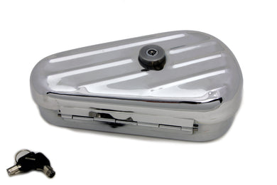 Oval Right Side Chrome Tool Box W 1940/1952 EL 1940/1952 FL 1941/1957
