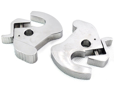 CHROME ROTARY LATCH KIT