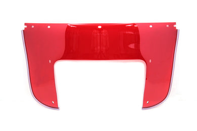 BEADED LOWER WINDSHIELD RED FL 1960/1984