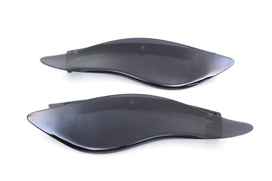 DARK SMOKE FAIRING DEFLECTOR SET FLH 2014/UP FLHX 2014/UP