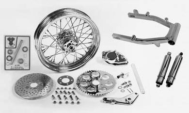 Swingarm And Brake Assembly Kit FX 1973/1978