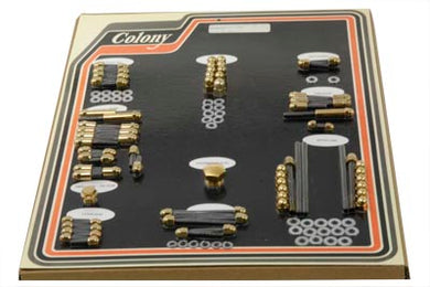 GOLD ENGINE DRESS UP ACORN BOLT KIT FXST 1984/1986