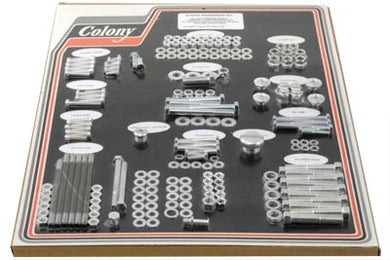CADMIUM STOCK STYLE HARDWARE KIT XL AND XLH 1957/1966 XL 1957/1966 XLH 1957/1966