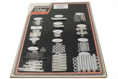 CADMIUM STOCK STYLE HARDWARE KIT XLCH 1957/1969 XLCH 1957/1969