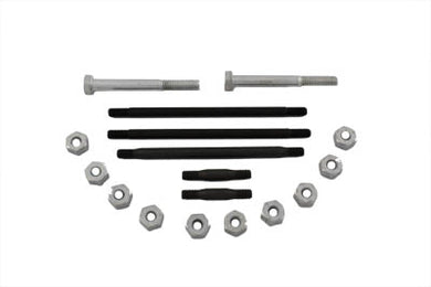 ENGINE CASE BOLT KIT CADMIUM WL 1937/1952 G 1937/1973