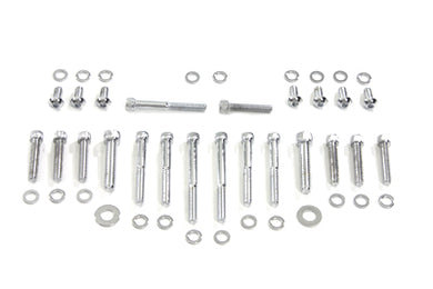 Chrome Allen Head Primary Cover Bolt Kit Harley FXST FLST 1989/2006 FXD 1991/2005