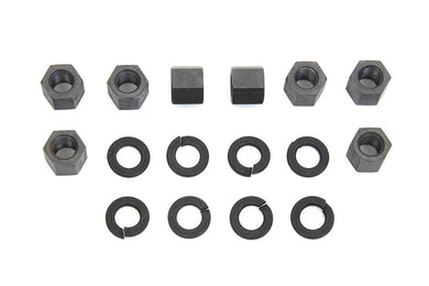 REPLICA CYLINDER BASE NUT KIT PARKERIZED XL 1957/1985 WL 1929/1952 G 1929/1973