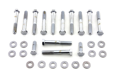 ROCKER BOX SCREW KIT CHROME XL 1957/1976