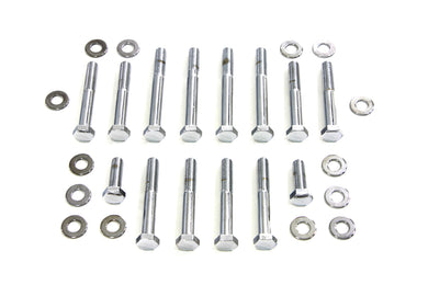 ROCKER BOX SCREW KIT CHROME XL 1977/1985