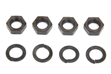 ROCKER ARM SHAFT PARKERIZED END NUT KIT EL 1936/1940 FL 1941/1947