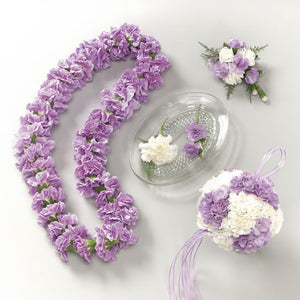 Lavender Flower Crown and Pomander