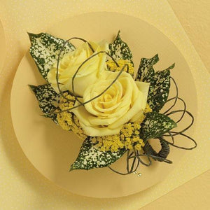 Yellow Roses Corsage