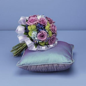 Wedding Lavender Rose Bouquet - flowersbypouparina.com