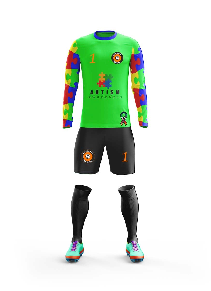 bespoke  boys goalkeeper shirt