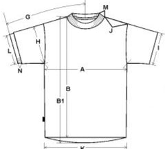football shirt size