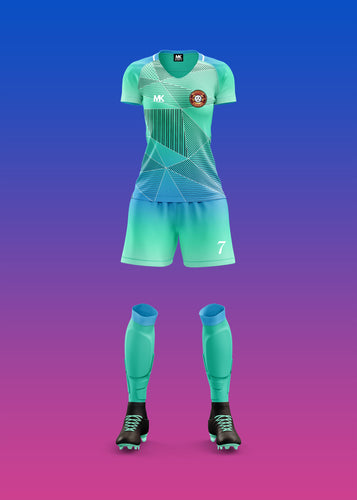 Abstract Football Kit Designs 2021