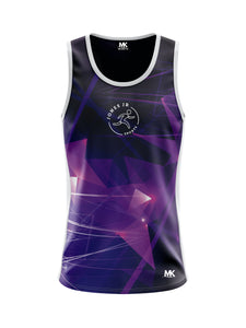 Purple running vest