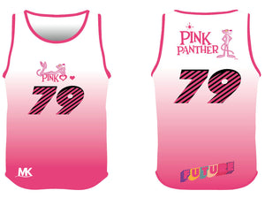 Pink athletics vest