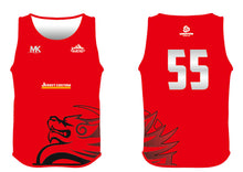 Load image into Gallery viewer, red athletics vest