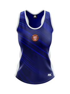 Blue athletics vest