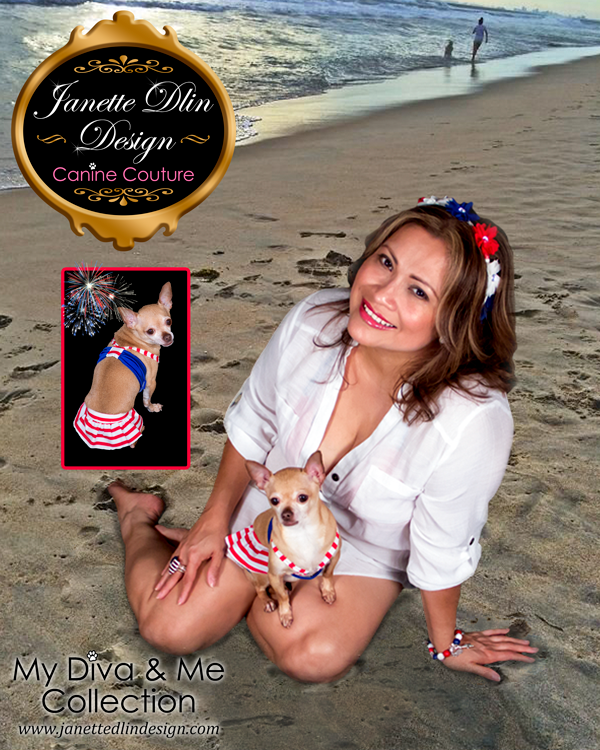 Summer Dog Clothing - My Diva & Me - Janette Dlin Design