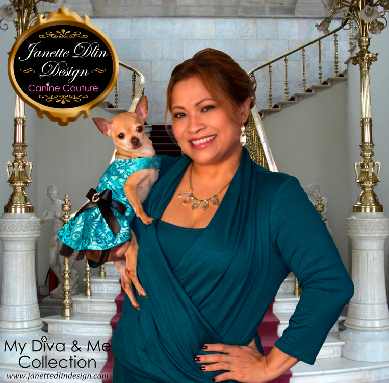 Party Dog Clothing - My Diva & Me - Janette Dlin Design