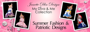 My Diva & Me Collection - Summer Fashion & Patriotic Designs
