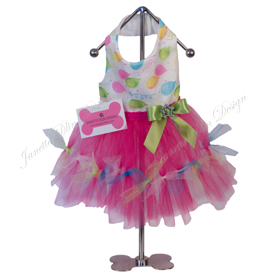 Birthday Girl Dress - Janette Dlin Design - Dog Dress