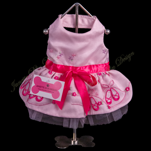 Francesca Ballerina Dress - Janette Dlin Design - Dog Dress