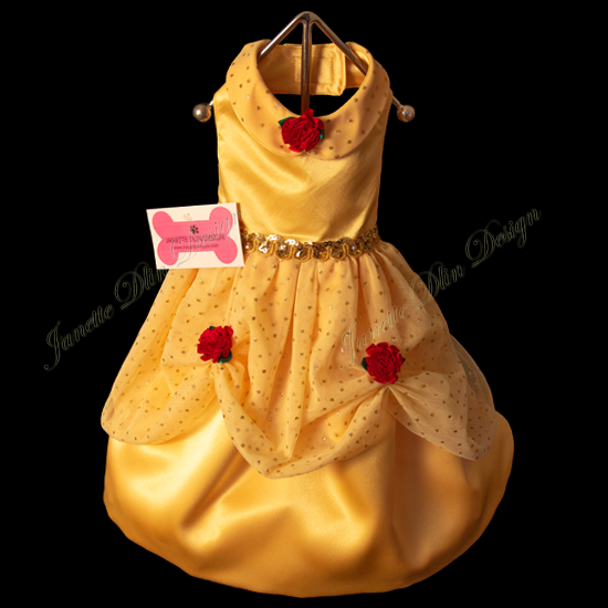 Isabella Party Dress - Janette Dlin Design - Dog Dress