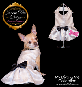 Glittering Diva Dress - Janette Dlin Design - Dog Dress