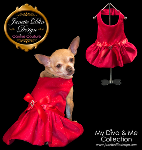 Valentine Lady Dress - Janette Dlin Design - Dog Dress