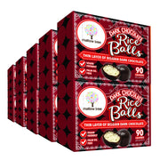 Dark Belgian Chocolate Rice Balls in a Snack Box X10 RJF Farhi