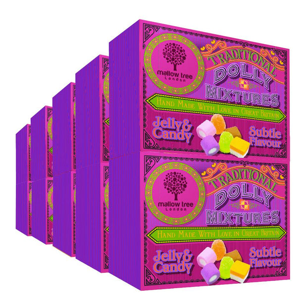 Traditional Dolly Mixture in a Snack Box X10 RJF Farhi